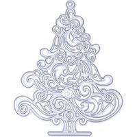 Christmas Trees Embossing Cutting Dies Stencils Metal Steel DIY Scrapbooking Decorative DIY Metal Craft PTSP