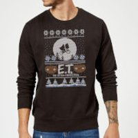 E.T. the Extra-Terrestrial Christmas Sweatshirt - Black - M - Black
