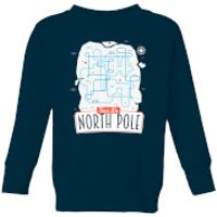 Kids' Christmas Sweatshirt - Navy - 5-6 Years - Navy
