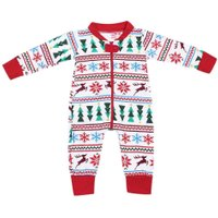 New Year's Costume for Boy Christmas Baby Clothes Snow Overalls Winter Romper Holiday Jumpsuit