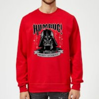 Star Wars Darth Vader Merry Sithmas Red Christmas Sweatshirt - S - Red
